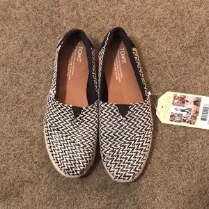 Toms classic woven rope sole